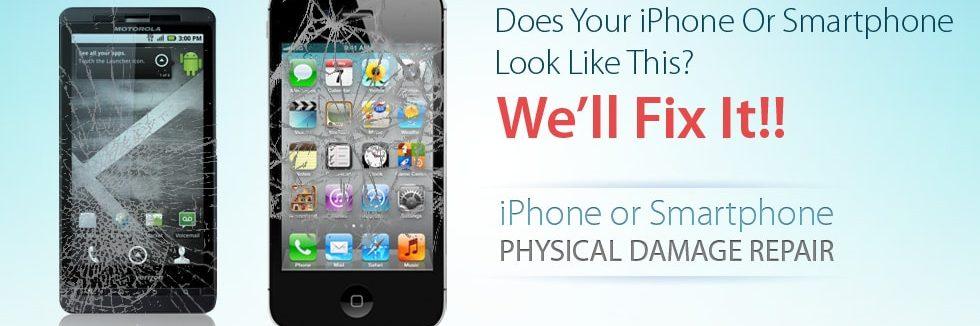 Screen Repair and Physical Damage Repair to iPhones & Smart Phones Las Vegas